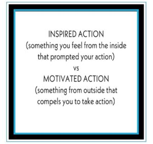 Be Inspired Then Take Action